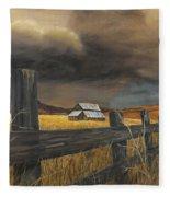 Stormy Clouds Fleece Blanket