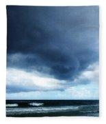 Stormy - Gray Storm Clouds By Sharon Cummings Fleece Blanket