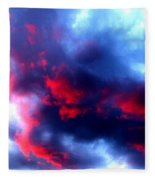 Stormy Monday Blues Fleece Blanket