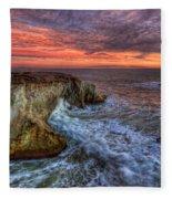 Stormy Seas Fleece Blanket