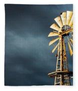 Stormy Skies Fleece Blanket