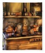 Stove - What's For Dinner Fleece Blanket
