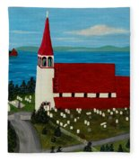 St.philip's Church 1999 Fleece Blanket