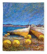 Stranded - Bar Road Fleece Blanket