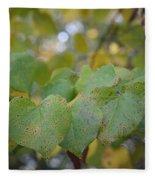 Stranded Hearts Of Autumn Fleece Blanket