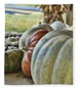 Strange Pumpkins Fleece Blanket