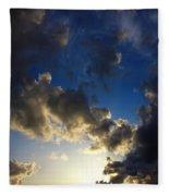 Stratosphere To Surface Fleece Blanket