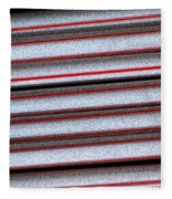 Straw Red Fleece Blanket