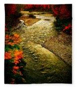 Stream Fleece Blanket