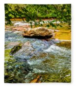 Stream II Fleece Blanket