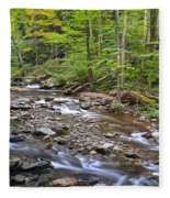 Stream Of Serenity Fleece Blanket