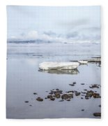 Stream Of Stillness Fleece Blanket