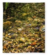 Stream Water Fleece Blanket