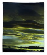 Streaming Clouds  Fleece Blanket