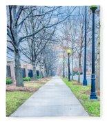 Street Alley Fleece Blanket
