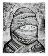 Mysterious Cochin Fleece Blanket