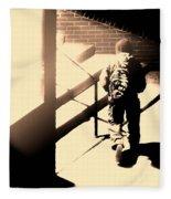 Street Artist Fleece Blanket
