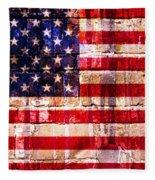Street Star Spangled Banner Fleece Blanket