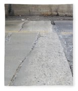 Street Under The Bridge Fleece Blanket