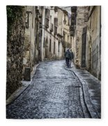 Streets Of Segovia Fleece Blanket