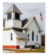 Stringtown Community Church Fleece Blanket