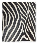 Stripes And Ripples Fleece Blanket