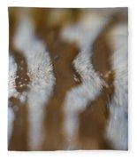 Stripes In The Tide Pool 2 Fleece Blanket