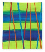 Stripes Fleece Blanket