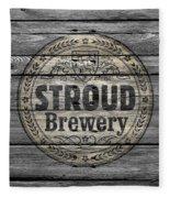 Stroud Brewing Fleece Blanket