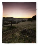 Stroud Sunrise Fleece Blanket
