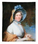 Stuart's Henrietta Marchant Liston Or Mrs. Robert Liston Fleece Blanket