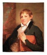 Stuart's John Randolph Fleece Blanket