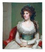 Stuart's Matilda Caroline Cruger Fleece Blanket
