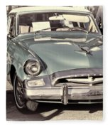 Studebaker 3 Fleece Blanket
