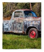 Studebaker Transtar Truck In Wv  Fleece Blanket