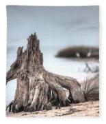Stump Dragon Fleece Blanket
