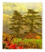 Stunning - Looks Like A Painting - Autumn Landscape  Fleece Blanket