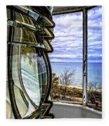 Sturgeon Point Lighthouse Fleece Blanket