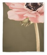 Subdued Anemone Fleece Blanket