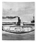 Submarine 'holland,' 1898 Fleece Blanket