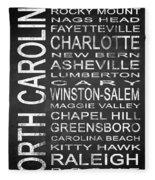 Subway North Carolina State 1 Fleece Blanket