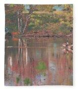 Sudbury River Fleece Blanket