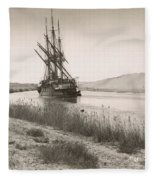 Suez Canal, C1895 Fleece Blanket