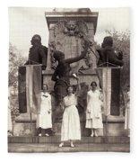 Suffragettes, 1918 Fleece Blanket