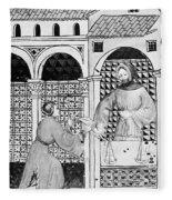 Sugar, 14th Century Fleece Blanket