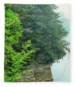 Sugar Creek, Turkey Run State Park Fleece Blanket