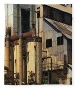 Sugar Factory Fleece Blanket