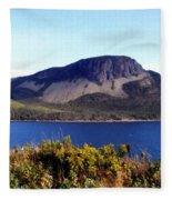 Sugarloaf Hill In Summer Fleece Blanket