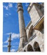 Suleiman Mosque 08 Fleece Blanket
