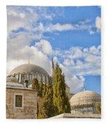 Suleiman Mosque 18 Fleece Blanket